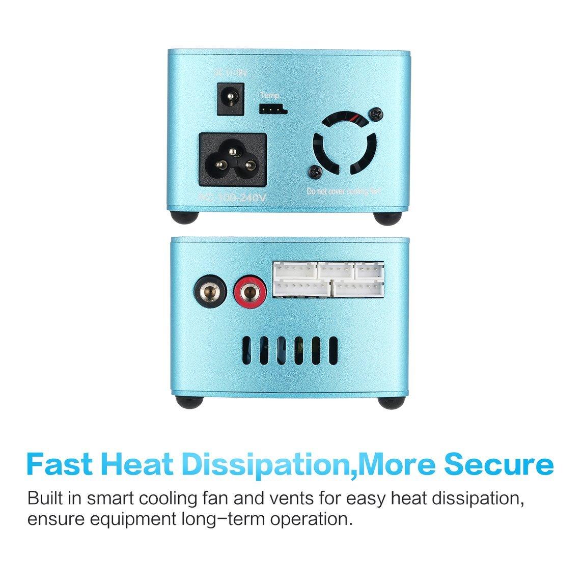 Footprintse BENETECH GM816 Termómetro Digital del anemómetro Velocidad del Viento Medidor de Temperatura del Flujo de Aire de la Velocidad del Aire Medidor de Viento con retroiluminación LCD