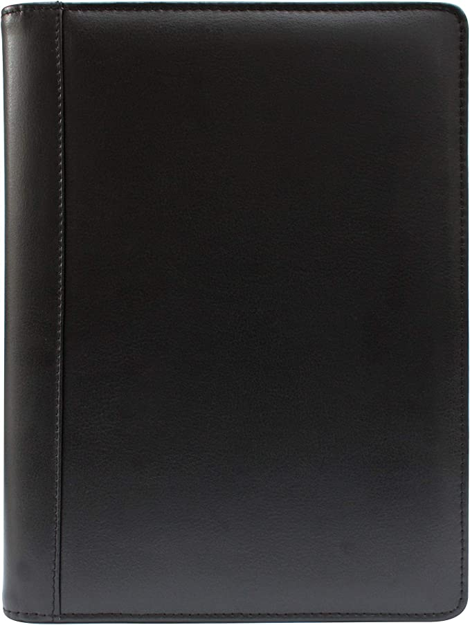 Deluxe High Quality UK Real Leather A4 Conference Folder Slight Seconds
