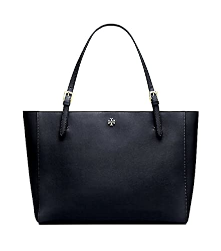 6ad6a892e415 Image Unavailable. Image not available for. Color  Tory Burch Emerson Small  Buckle Tote York Shoulder Bag ...