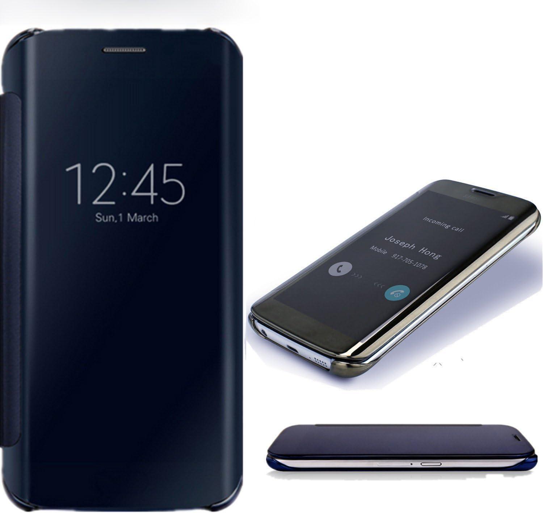 SevenPanda Estuche para teléfono Celular Huawei P10 Lite, Estuche Huawei P10 Lite, Espejo Transparente Dar la Vuelta Funda Protectora Teléfono móvil Caso Ultra DeHuaWeiado Caso: Amazon.es: Electrónica