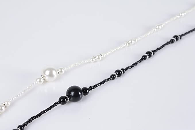 Soleebee 2 Pièces Corde Chaîne Attache pour Lunettes Porte-Lunettes avec  Perles en Cristal Artificielle  Amazon.fr  Bricolage e1091cd4b000