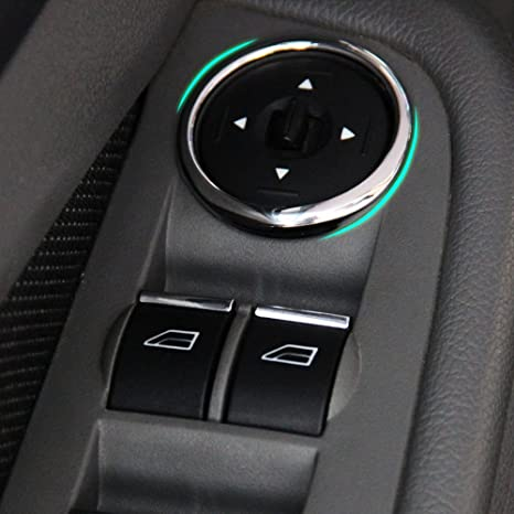 Car Window Lift Buttons Sequins/Decocation-fit Ford Focus 2 Mk2