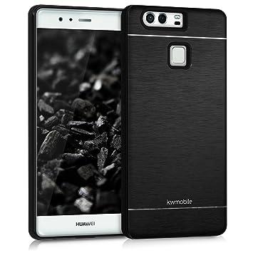 kwmobile Funda para Huawei P9 - Carcasa de [Aluminio] para ...