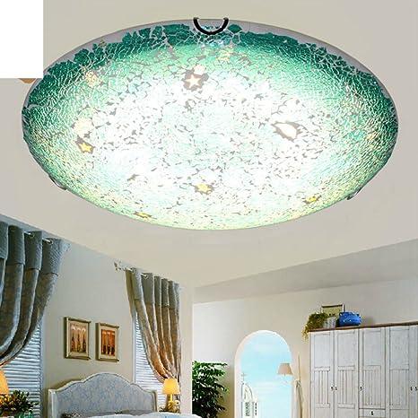 ZXC Lámpara azul marinera continental/Personalidad creativa ...