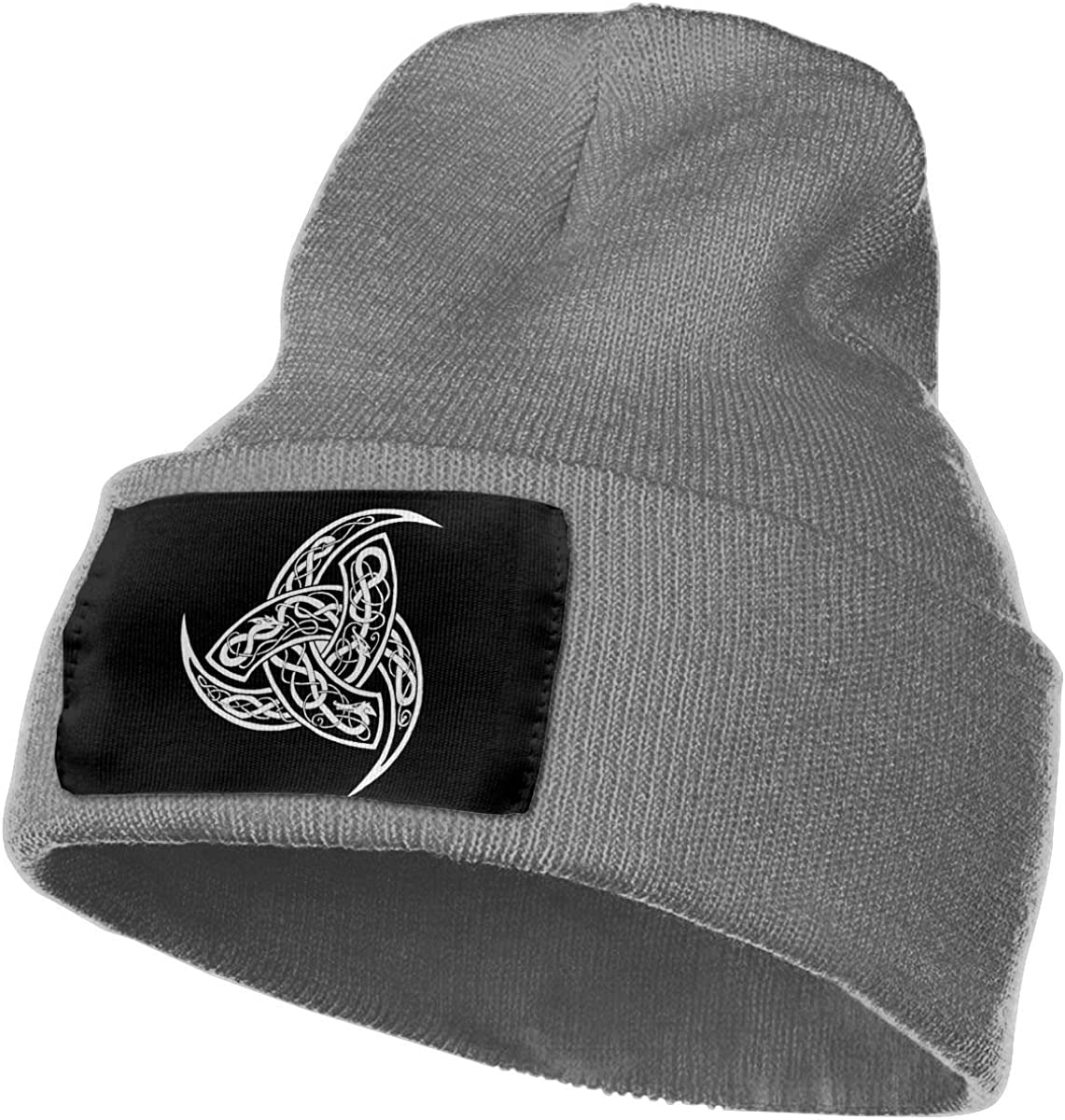 FORDSAN CP Triskele Mens Beanie Cap Skull Cap Winter Warm Knitting Hats.