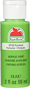 Apple Barrel Acrylic Paint in Assorted Colors (2 Ounce), 20740 Parakeet