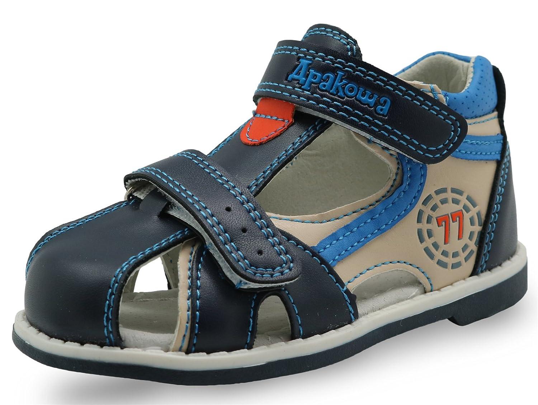 a05db09b098f2 Red Fish Boys Closed Toe Grey Sporty Sandal  1540909274-140287  - £11.24