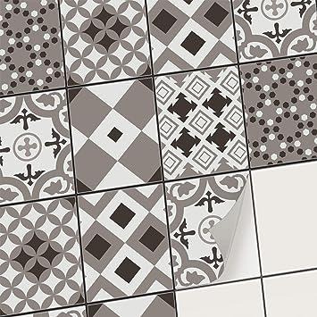 Incroyable Stickers Carrelage   Carrelage Adhésif Mural I Autocollants Pour Carreaux  De Ciment   Décorer Cuisine