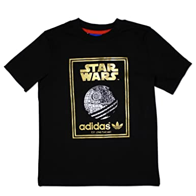 adidas Originals Star Wars Death Star Infants T shirt Black Children Tee  AI1460: Amazon.co.uk: Clothing