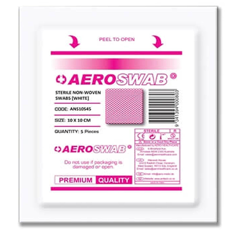 Pañuelos de gasa estéril de alta calidad, 10 cm x 10 cm ...