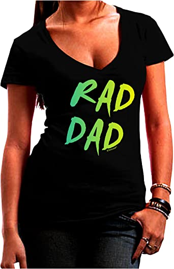 80s Neon Muscle Shirt TooLoud Rad Dad Design