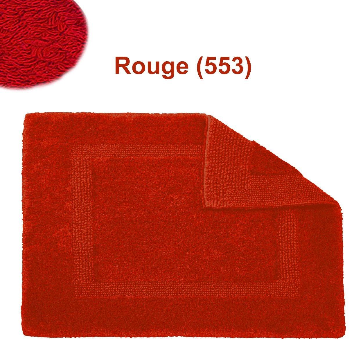 Abyss & Habidecor.- Alfombra de baño modelo Reversible 70x120 cm Rouge 553