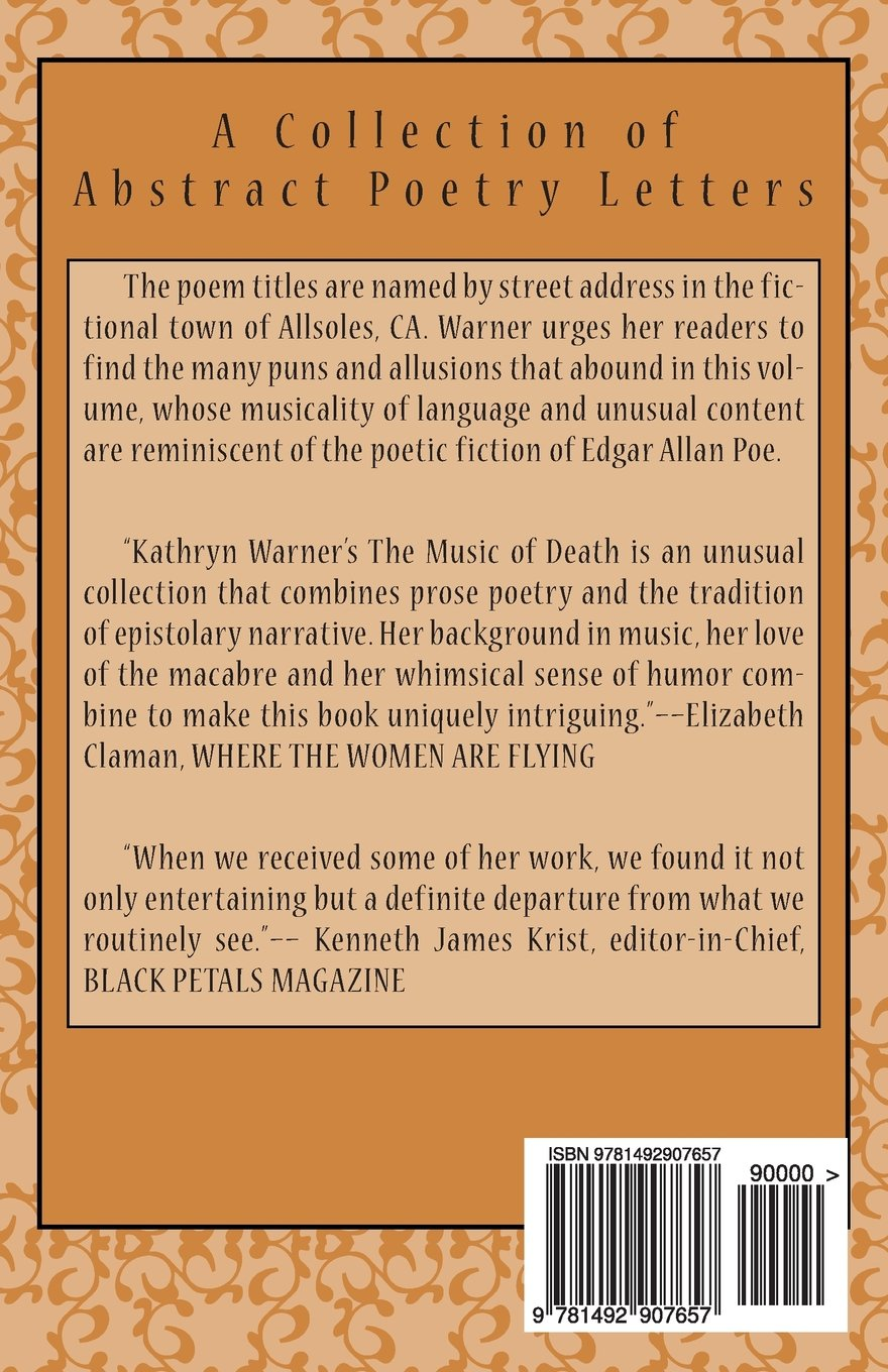 The Music of Death: A Collection of Abstract Poetry Letters