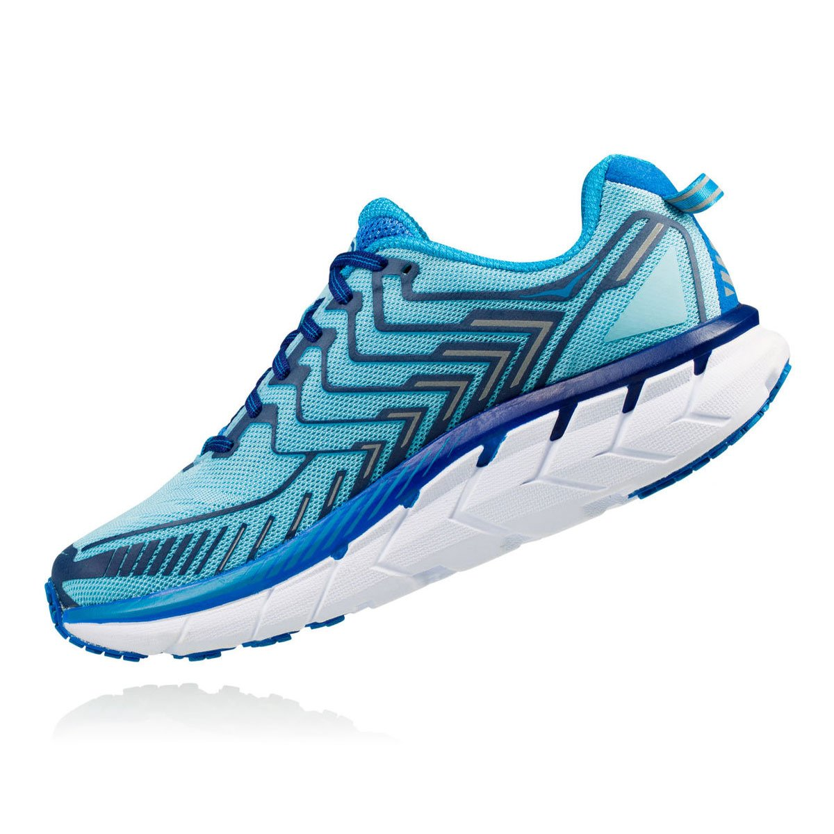 HOKA ONE ONE Women's Clifton 4 Running Shoe B01N1UK0GY 10.5 B(M) US|Blue Topaz/Imperial Blue