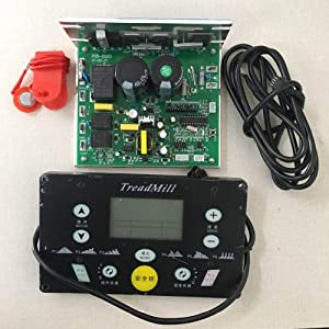 Xennos Universal Xennos Motor Controller Running Machine Controller+Display Panel controller kit for 1-3.5HP DC Motor - (Plug Type: incline LCD)