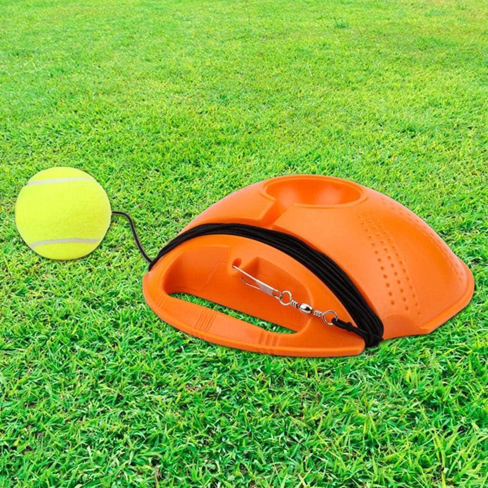 Jannyshop Tennistraining Rebound Ball Tennistrainer mit Imitation Tennis Design /Übungs-Trainingswerkzeug mit Seil