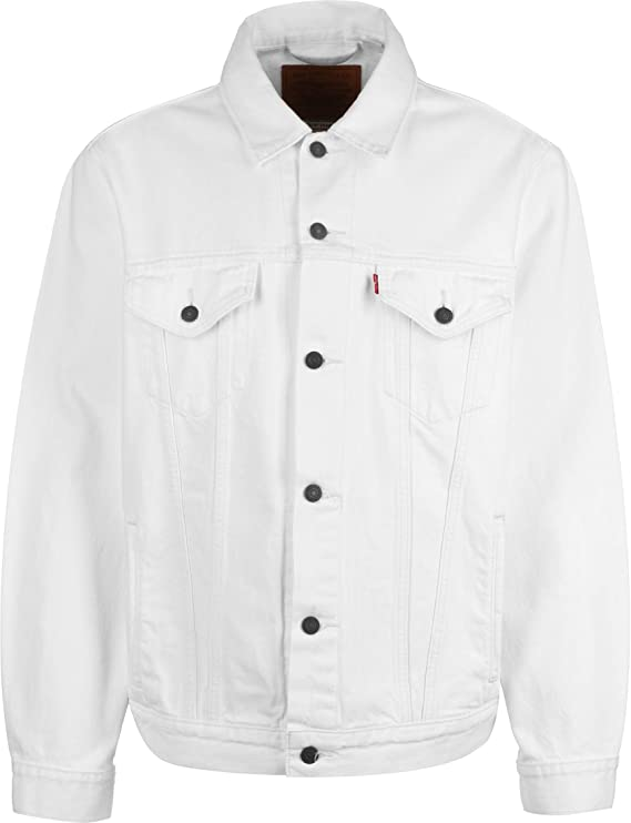 Levis Levis 77380 - Vintage FIT Trucker V White out Trucker Hombre: Amazon.es: Ropa y accesorios