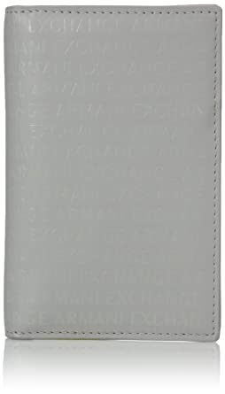 new concept d985c 40225 Armani Exchange Men's Laser Logo Folding Cardcase