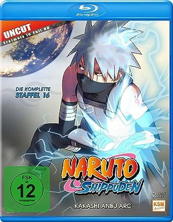 Naruto Shippuden - Kakashi Anbu Arc - Staffel 16: Folge 569-581 Blu ...