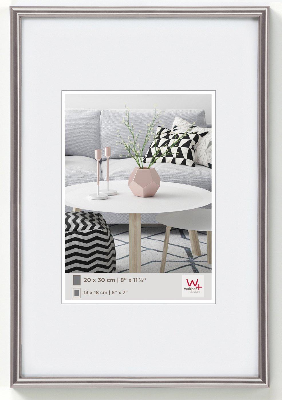 Amazon.de: Walther KD045H Galeria Kunststoffrahmen im Format 30 x 45 ...