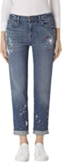 product image for J Brand Women Jeans Peace Johnny mid-Rize boy fit Blue 31 MSRP $278