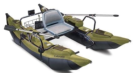 Fishing Pontoon Boats For Sale >> Amazon Com Classic Accessories Colorado Inflatable Fishing Pontoon