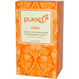 Pukka Herbs Relax Vata Tea 20 Teabags (Pack of 4)