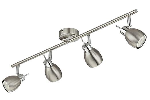 Briloner Leuchten LED Deckenstrahler Deckenleuchte Deckenlampe Spots Strahler Wohnzimmerlampe