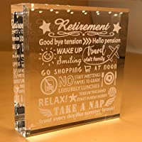 Retirement Gifts | For Women | Men | Retiring | Retire | 2020 | DAD | Her | Friends | Grandpa | Coworker | BOSS…