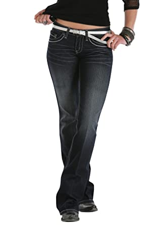 483f18a98ca Cruel Girl Stormy Stretch Jeans 5 Long CB32054072 at Amazon Women s ...