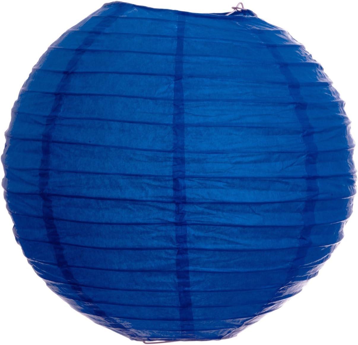 artigianali compleanno matrimonio Set of 9 Blue Style Ardux 9 lanterne di carta cinesi decorazioni da appendere per feste di anniversario