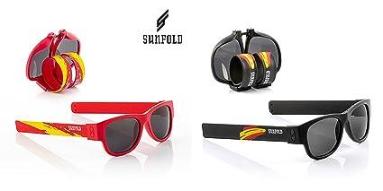 Pack de 2 gafas de sol enrollables SUNFOLD (negra y roja ...