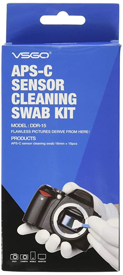 Bastoncillo de Limpieza del Sensor de la cámara Tipo 2 (VSOG DDR15 ...
