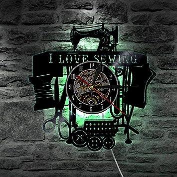 AVHSA Senderismo Vinilo Record Reloj de Pared Naturaleza Montaña Cuerda Cuerda Riesgo Escalada Reloj de Pared Decoración del hogar Aventurero Excursionista ...