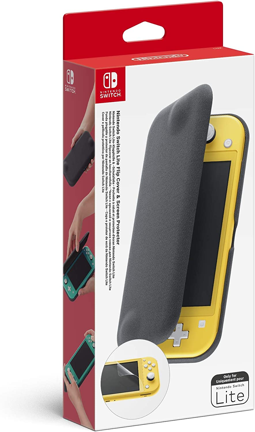 Nintendo - Funda Plegable (Nintendo Switch Lite): Amazon.es: Videojuegos
