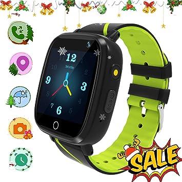 GPS Smartwatch Niños - Reloj Inteligente con Llamada Chat de Voz ...