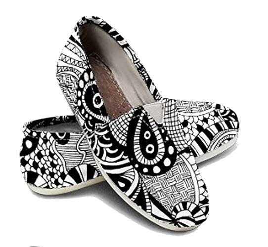 c59527d4082 Amazon.com  Womens Shoes Adult Color Shoe DIY Kit Painted DIY Shoe Adult  Coloring Gifts for Girls Teen Gift  Handmade