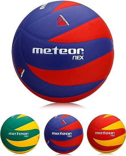 meteor Balón de Voleibol Tamaño 4 y 5 (5, Nex R&B): Amazon.es ...