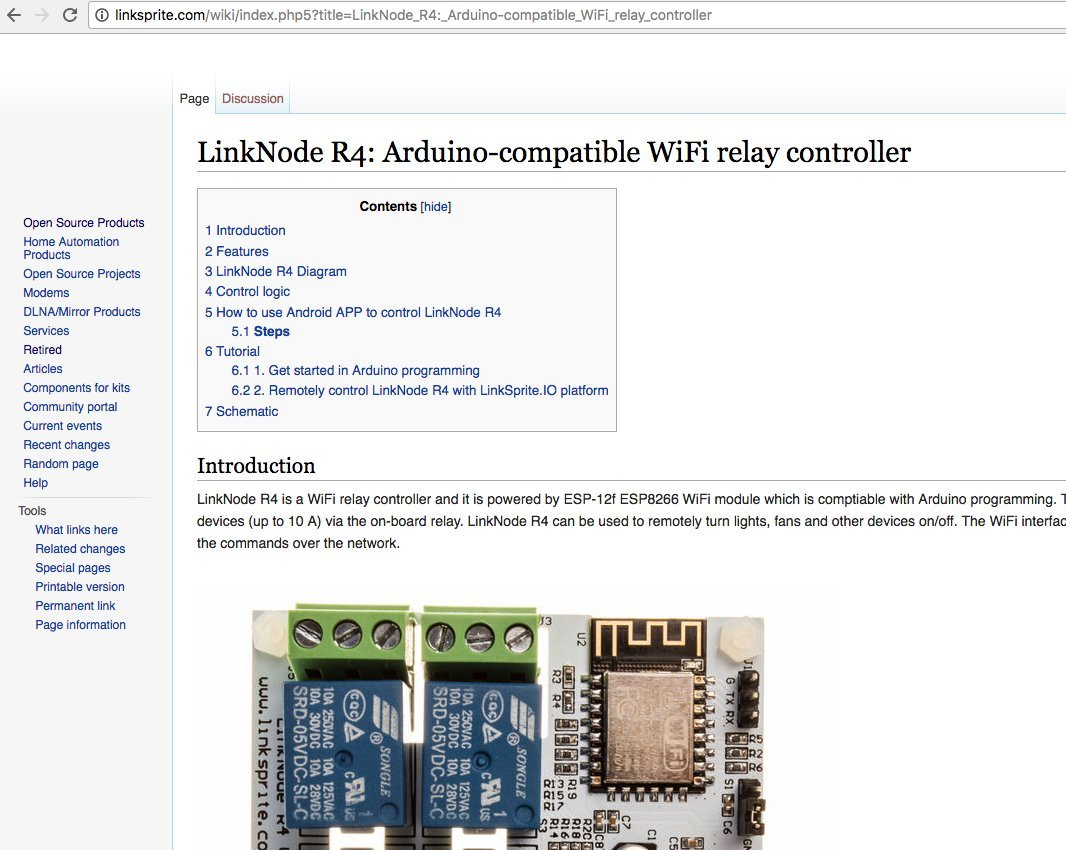 Linknode R4 Wifi Relay Controller 4 Channel Home Arduino Control A With Tutorial 5 Electronics