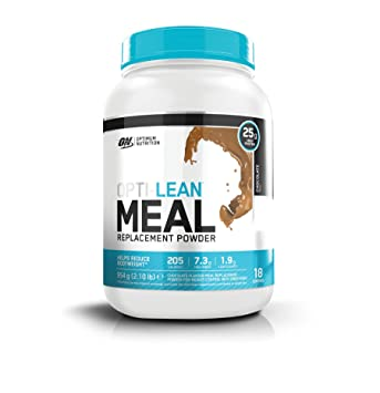 Optimum Nutrition Opti Lean Meal Replacement Chocolate, Sustitutivo de Comida - 954 g: Amazon.es: Salud y cuidado personal