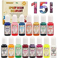 Colorante de resina epoxi HXDZFX de 15 colores