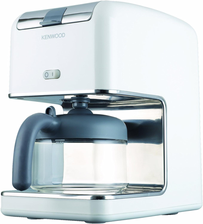 Kenwood CM300 - Cafetera de goteo (8 tazas), color blanco: Amazon ...
