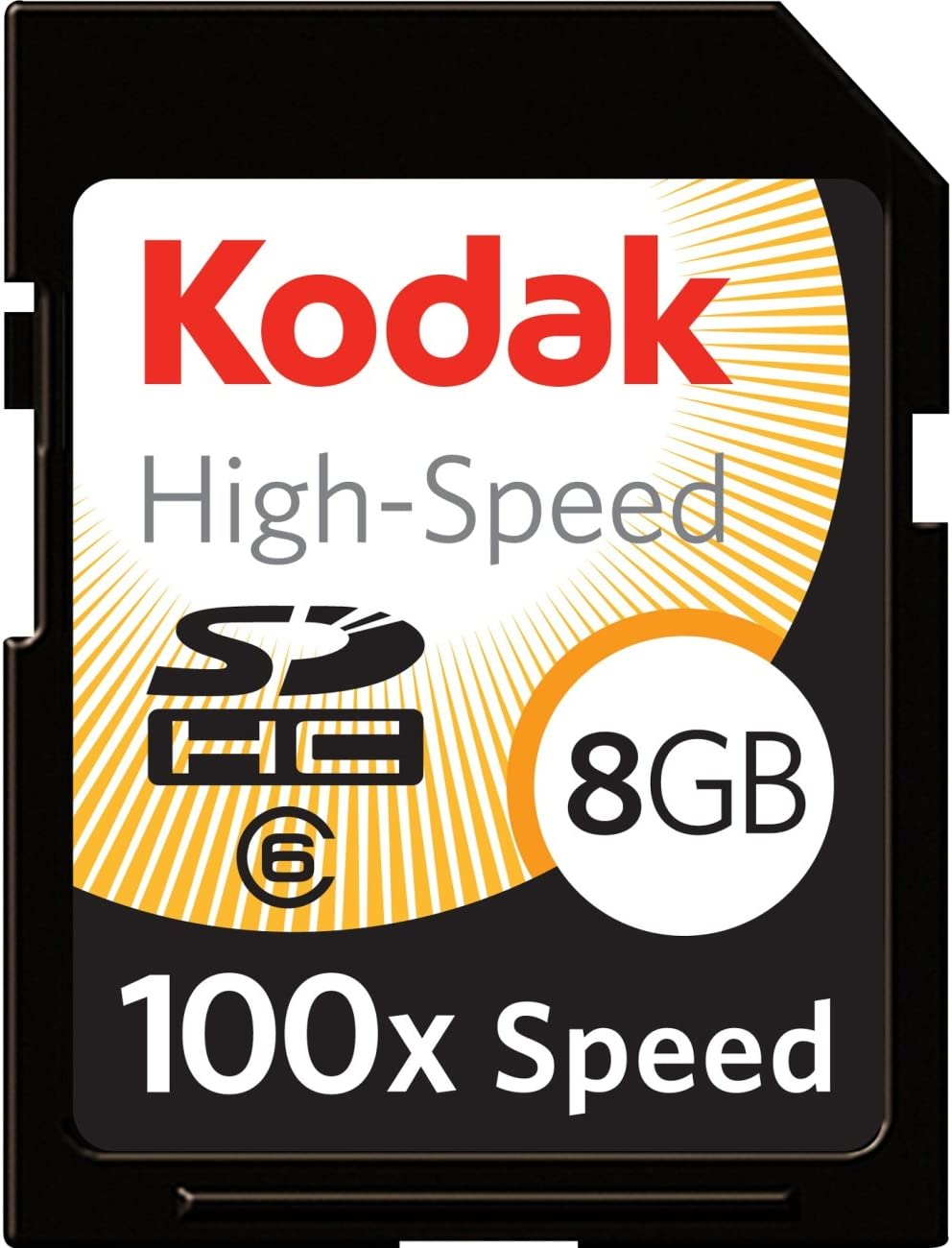 Kodak 8GB SDHC High-Speed Card