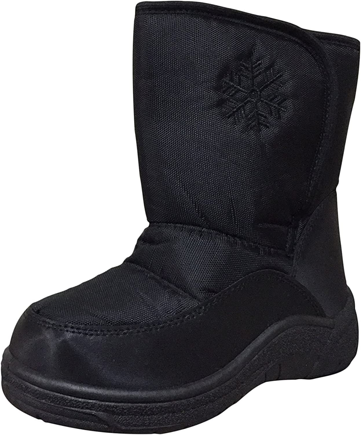 10 M US Toddler, Black PSW SJ600 Toddlers Infant Snow Boots