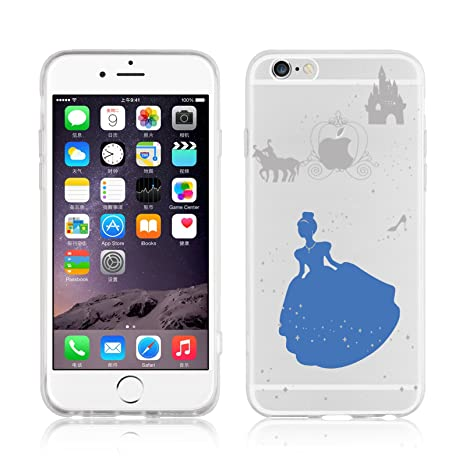 coque iphone 6 plus cendrillon