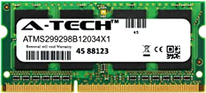 A-Tech 4GB Module for HP Pavilion dv6-2173cl Laptop & Notebook Compatible DDR3/DDR3L PC3-12800 1600Mhz Memory Ram (ATMS299298B12034X1)