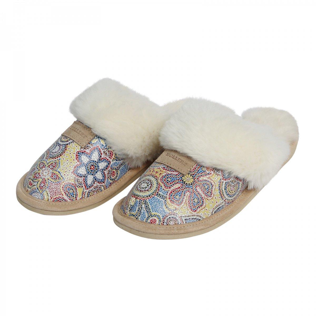 Lammfell Hausschuhe SYDNEY MODELL 4 Damen Pantoffeln Puschen Echtfell Schuhe
