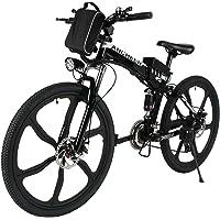 Ancheer 26' Folding Electric Mountain Bike