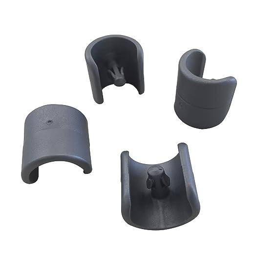Gommini Per Sedie Tubolari.Lafuma Set Di 4 Piedini Per Sedie A Sdraio Diametro 20 Mm