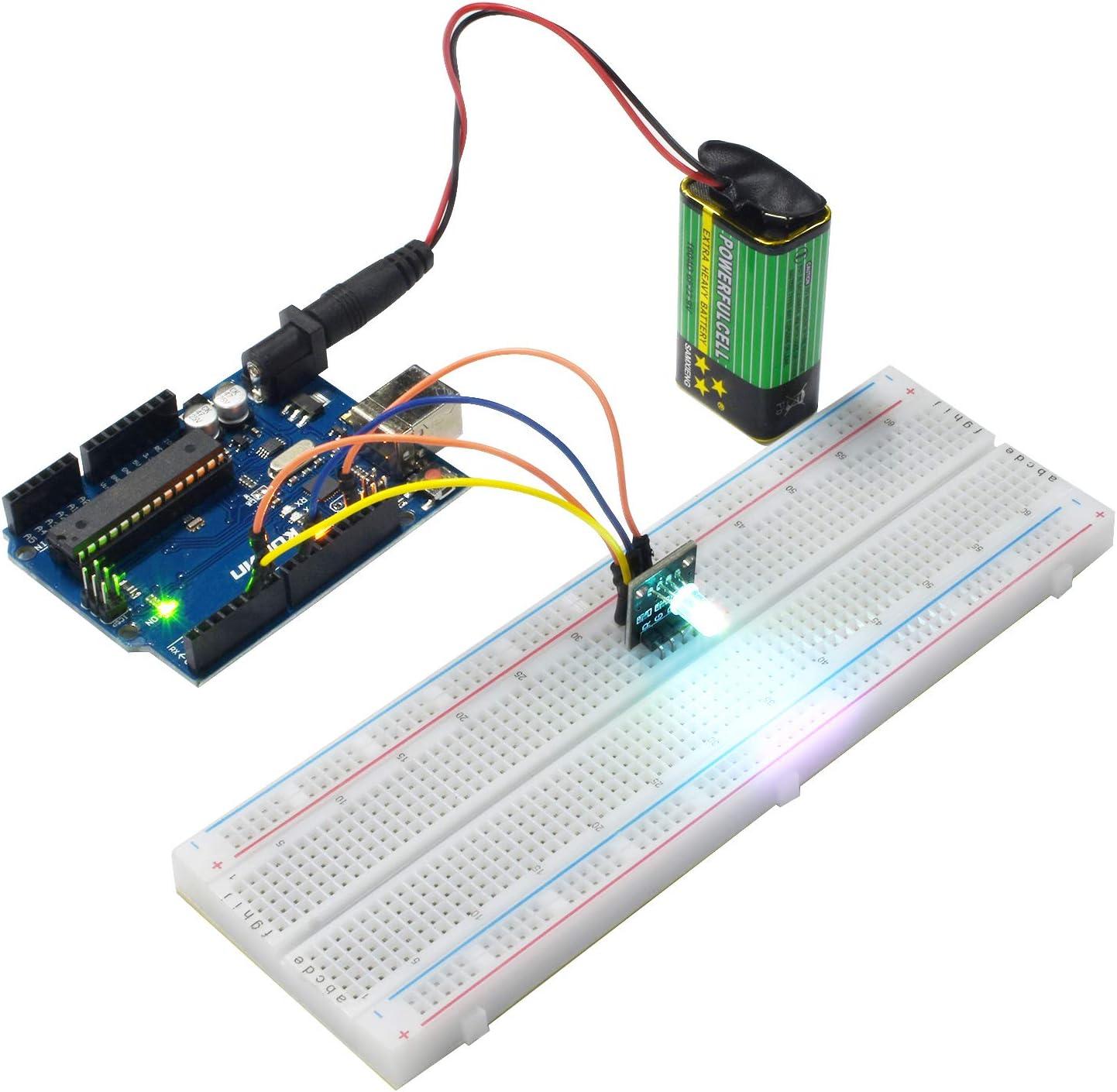 kuman Projet Super Kit de D/émarrage avec Un Manuel Dutilisation Fran/çais pour Mega2560 Mega328 Nano K4